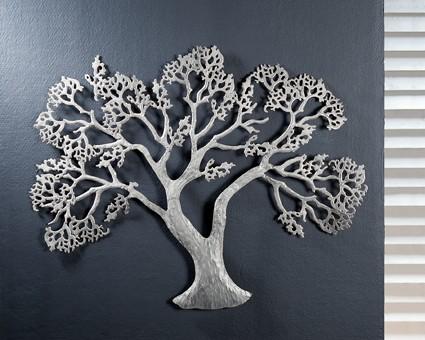 Baum Deko Wand Metall ~ Die Neuesten Innenarchitekturideen Deko Baum Wand