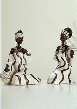 Afrikanische Figuren &amp; Statuen