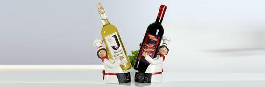 Gilde Flaschenhalter / Weinflaschenhalter