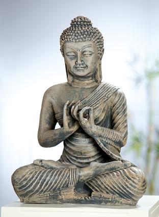 die bedeutung von buddhastatuen und ihren mudras symbole tiefer buddha fur garten. Black Bedroom Furniture Sets. Home Design Ideas